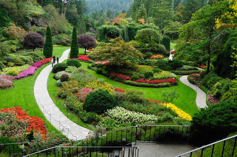 stunning butchart gardens | The Most Beautiful Gardens In The World – Butchart Gardens ...