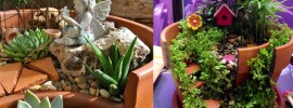 Make Your Own Fantastic Fairy Gardens From Broken Pots
