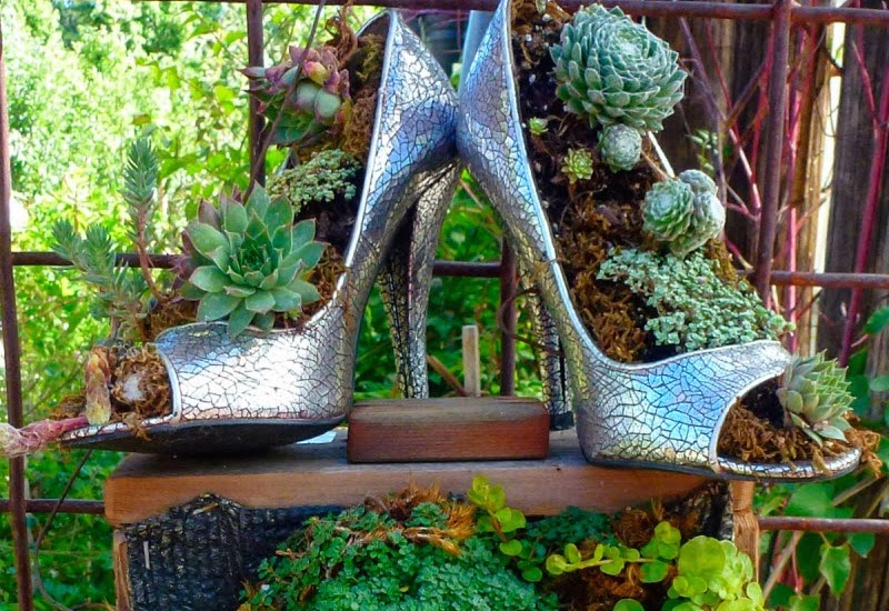 20 Of The Most Imaginative Recycled Planter Ideas for Your Garden ...
