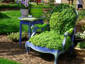 15 Upcycled Chairs Transformed into Unique Garden Planters