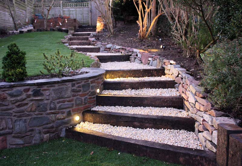Truly Innovative Garden Step Lighting Ideas Garden Lovers Club