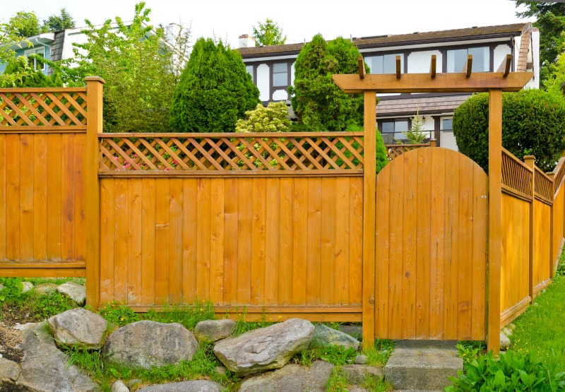 25 Garden Fences In Varied Styles And Materials Garden