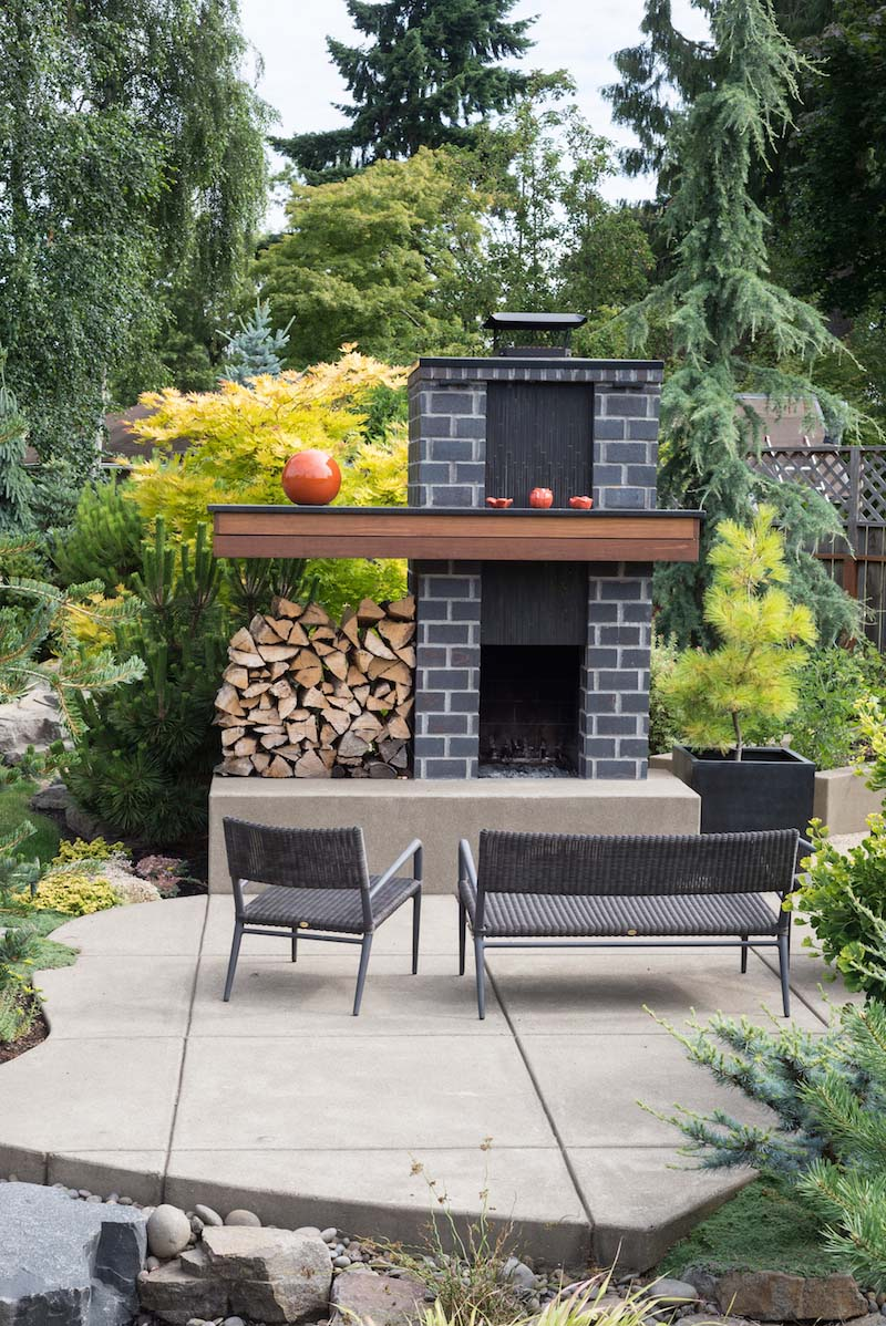 Image of: 15 Outdoor Stone Fireplace Ideas Garden Lovers Club