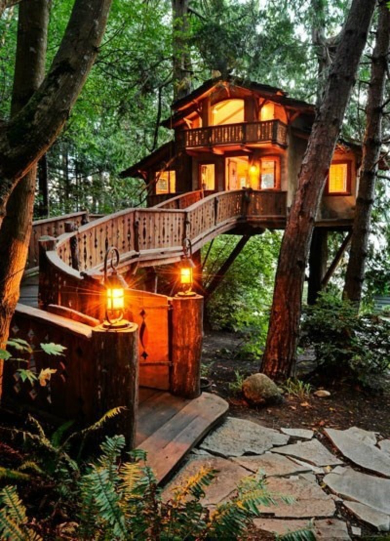 Picture of: 15 Tree House Ideas Worthy Of Wonderland Garden Lovers Club