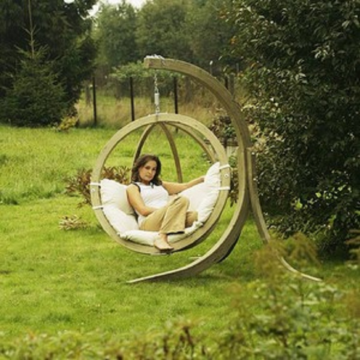 15. Hanging Sphere Chair