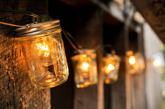 10 Ideas For Outdoor Mason Jar Lights To Add A Romantic Glow To Your Patio Garden Lovers Club