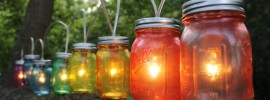10 Ideas for Outdoor Mason Jar Lights to Add a Romantic Glow to Your Patio