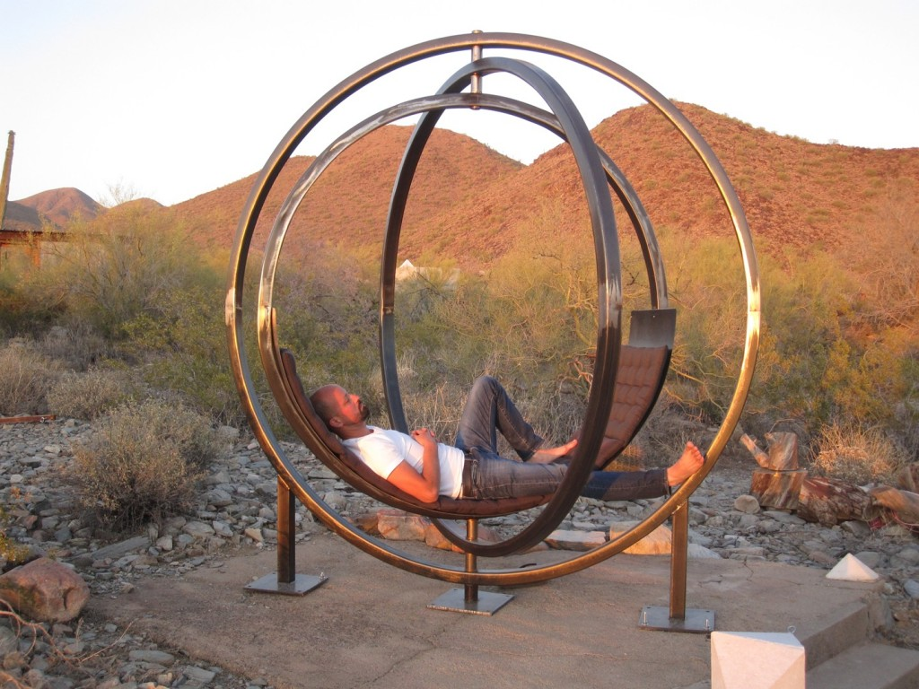... This Outdoor Chair Cradles You In The Usual Hammock Style. If You Are  Looking For A Way To Modernize Your Garden Or Backyard Patio, This May Be  The ...