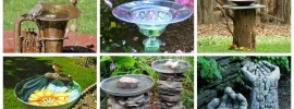 20 Garden Bird Bath Ideas to Keep Your Feathered Friends Singing