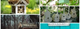25 Garden Birdhouses To Tweet About