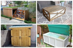 10 Charming DIY Outdoor Storage Ideas