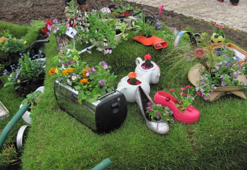 15 Remarkable Recycled Gardening Ideas - Garden Lovers Club