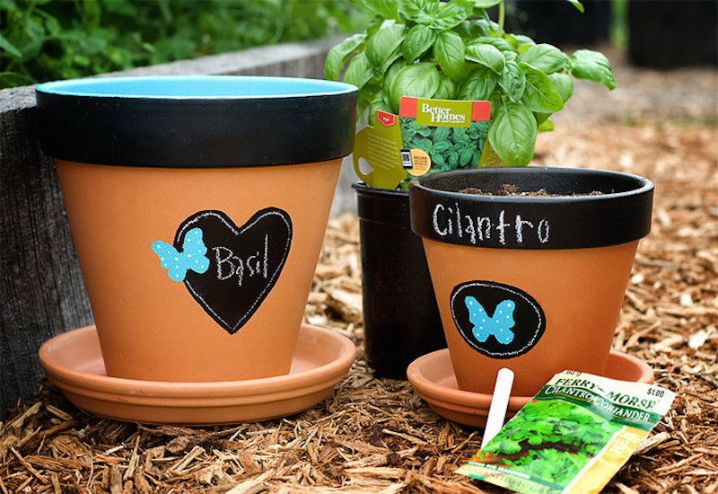 14 Wonderfully Artistic Hand Painted Flower Pots Garden Lovers Club