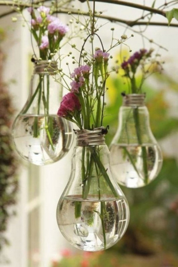 DIY-Lightbuld-Vase-Artistic-Tranparent-Clear-Scenery-Romantic-Plant-Flowers-Ornament-Minimalist-Fitted-Stem-Hanging-Garden-Reflection-Purple-White-House-Futuristic-Soft-idea