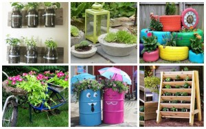15 Ingenious DIY Outdoor Garden Planter Ideas For A Versatile Garden