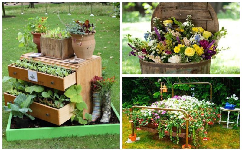 15 Remarkable Recycled Gardening Ideas Garden Lovers Club