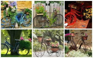 30 Mind-Blowing Bicycle Planter Ideas For Your Garden or On-The-Go