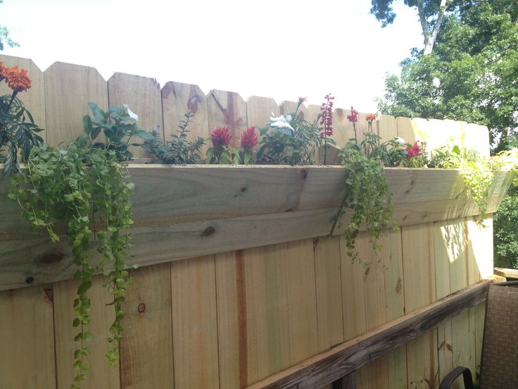 25 Fence Planters That Ll Have You Loving Your Privacy