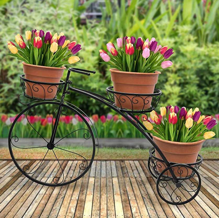 30 Mind Blowing Bicycle Planter Ideas For Your Garden Or On The Go