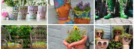 27 Inspiring Flower Planters and Pots