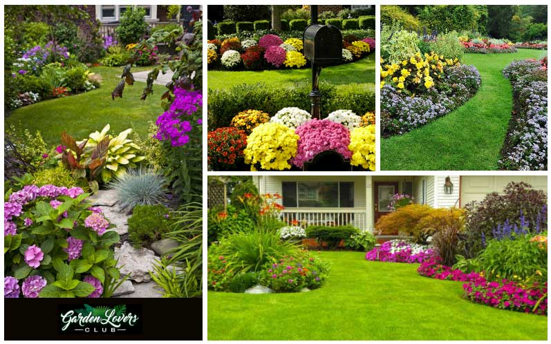 inspirational gardens collage