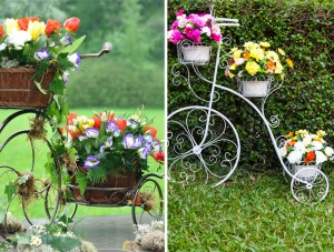 14 Sensational Tricycle Planter Ideas