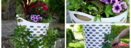 Strawberry Planter: From Laundry to Outdoor Luxury