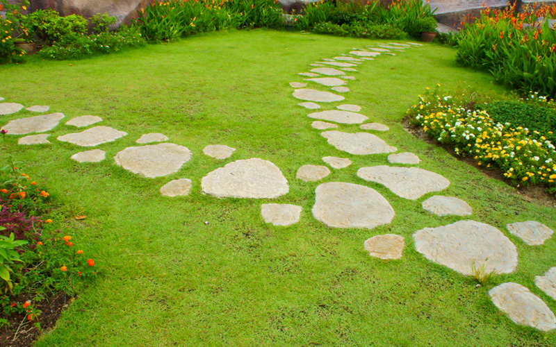 Etonnant Garden Path Stepping Stones 05