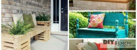 20 DIY Garden Bench Ideas That Are Out Of the Ordinary