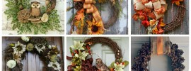 15 Fabulous Fall Wreath Ideas