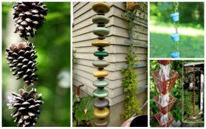 17 Brilliant Rain Chain Ideas