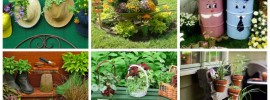 20 Low-Budget Garden Pots and Container Projects