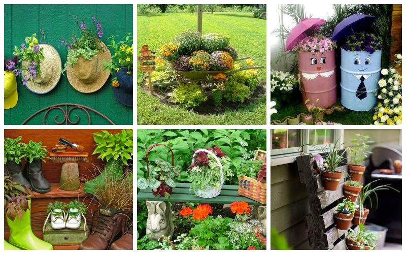 20 low budget garden pots and container projects garden lovers club