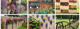 15 Fence Planters That'll Have You Loving Your Privacy Fence Again