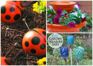11 Colorful Kid-Friendly DIY Garden Projects