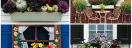 14 Breathtaking Fall Window Boxes