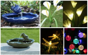 7 Cute Solar Garden Decoration Ideas