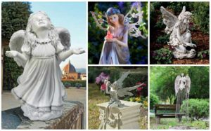 23 Stunning Fairies & Angel Garden Statues
