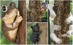 9 Cute & Funny Tree-Hugger Decoration Ideas