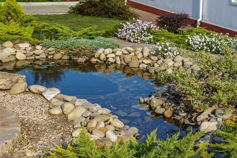 We absolutely love garden ponds, so of course we had to include one in this list of favorite backyard garden ideas! A garden pond takes a lot of hands-on work, so you'll either need time and materials or the money to pay someone to do it. But one glance at the image above shows just how completely the results justify the effort. There are a thousand ways to craft a pond in your backyard, but only you know how to best shape one.