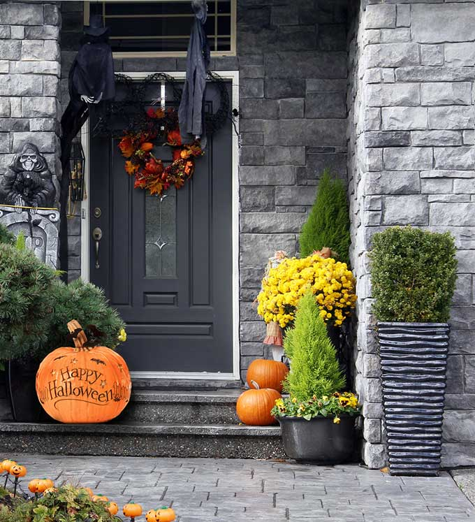 Front decor fall