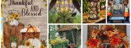 17 Fall Garden Decoration Ideas You'll Love