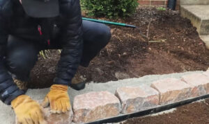 Easy Do-it-Yourself No Dig Edging